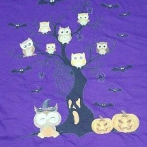 Other - Owls family tree Halloween 3xl Tshirt
